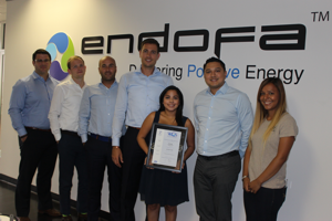 Endofa obtains ISO Certification